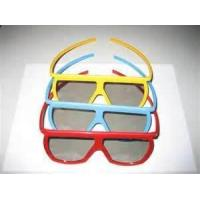 Quality Customed Lovely women Candy colors Linear polarized 3D Lens glasses for real D cinemas for sale