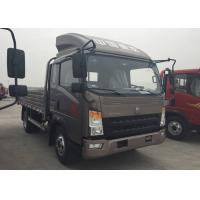Buy 15 Ton Light Duty Trucks For Fruit Transport 160HP Engine 5200mm Wheel Base at wholesale prices