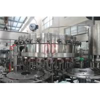 Quality 2000 - 6000BPH Carbonated Drink Filling Machine Counter Pressure Soda Bottling Equipment for sale