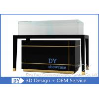 Buy High End Glass Jewelry Display Cases For Supermarket Or Retail Store at wholesale prices