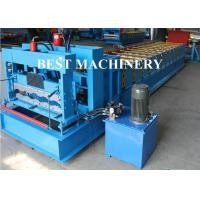 Buy cheap Trapezoid Roof Tile Roll Forming Machine YX1100 Russian Type PPGI Material from wholesalers