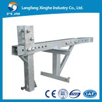 Quality parapet clamp aluminium alloy / hot galvanized for window cleaning / building access for sale