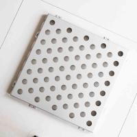 China Stainless Steel Perforated Metal Sheet Easy Installation Attractive Appearance on sale