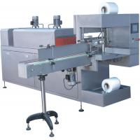 Quality Sleeve Type Shrink Wrap Machine For Shrinking Packaging Cans / Bottles for sale