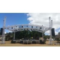 Buy Highly Used Oudoor Event Aluminum Stage Lighting Truss With Canopy at wholesale prices