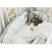 Quality 100% Cotton Cuddle Nest Baby Crib Bedding Sets Comfortable Color Customized for sale