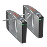 China Adjustable Speed 304 Stainless Steel Access Control Turnstile Gate on sale
