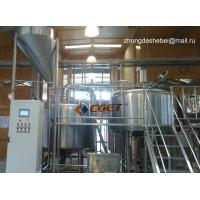 Quality 3000L Large Scale Brewing Equipment 304 Sanitary Pumps for sale