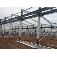Quality Industrial Light Steel Prefabricated Workshop Buildings Q345B / Q235B Customized Size for sale