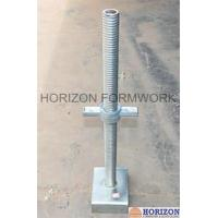 Buy cheap BS1139 Standard Scaffold Screw Jack Heads With High Loading Strength from wholesalers