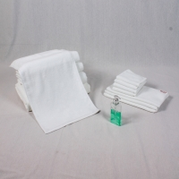 Buy cheap 34x75cm White Cotton Face Towel from wholesalers