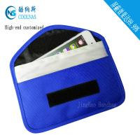 Quality Canvas RFID Travel Bags , Mobile Phone Signal Rfid Blocking Wallet for sale