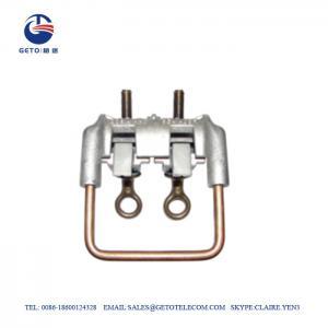 Quality 35sqm Aluminum ISO 9001 Stirrups Bronze Connectors for sale