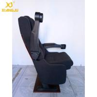 Quality Foldable Armrest Tip Up VIP Cinema Seating With High Cushion PP Shell Economic for sale
