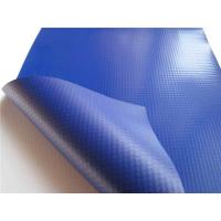 China Smooth UV Treated PVC Tarpaulin Fabric Quick Drying Anti - Frost For Pallet Cover on sale