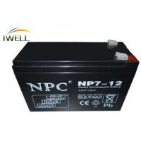 Quality Sealed 12VDC AGM Absorbed Glass Mat Batteries UPS / Inverter Battery for sale