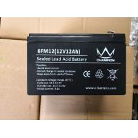 Quality 12v 10ah Gel Lead Acid Battery Deep Cycle Long Service Life Good Discharge Performance for sale