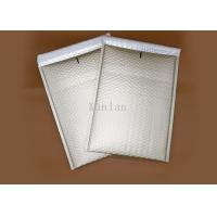 Quality White Light Shield Bubble Cushioned Mailers , Anti Rub Bubble Wrap Envelopes for sale