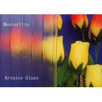 Quality 3mm to 8mm Masterlite Patterned Glass, Rolled Glass, Figured Glass with Certificate ISO and BV for sale