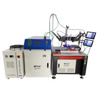 Quality Double Welding Heads Fiber Laser Welding Machine For Battery Tabs , High Efficiency for sale