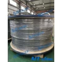 Quality BA Surface Nickel Alloy Steel Tube , Nickel Alloy Tubing 12.7x1.65mm Alloy 825 / N08825 for sale