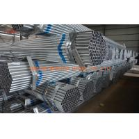 Quality Q195 - Q215 Welded Pre Galvanized Steel Pipe For Construction BS EN 10297 for sale