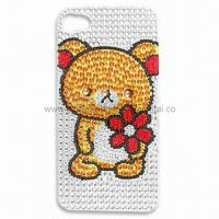 Quality Rhinestone Tattoo Bling Sticker for Mobile Phone Decoration, Fashionable Design for sale