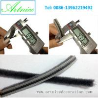 Buy cheap Aluminum door and window weather strip , quality aluminium door and window weather stripping in different size from wholesalers