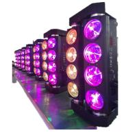 Quality 8 Eyes 10w Spider Beam Moving Head Light 14 / 20 Channels , 1-20 Times / Second Strobe for sale