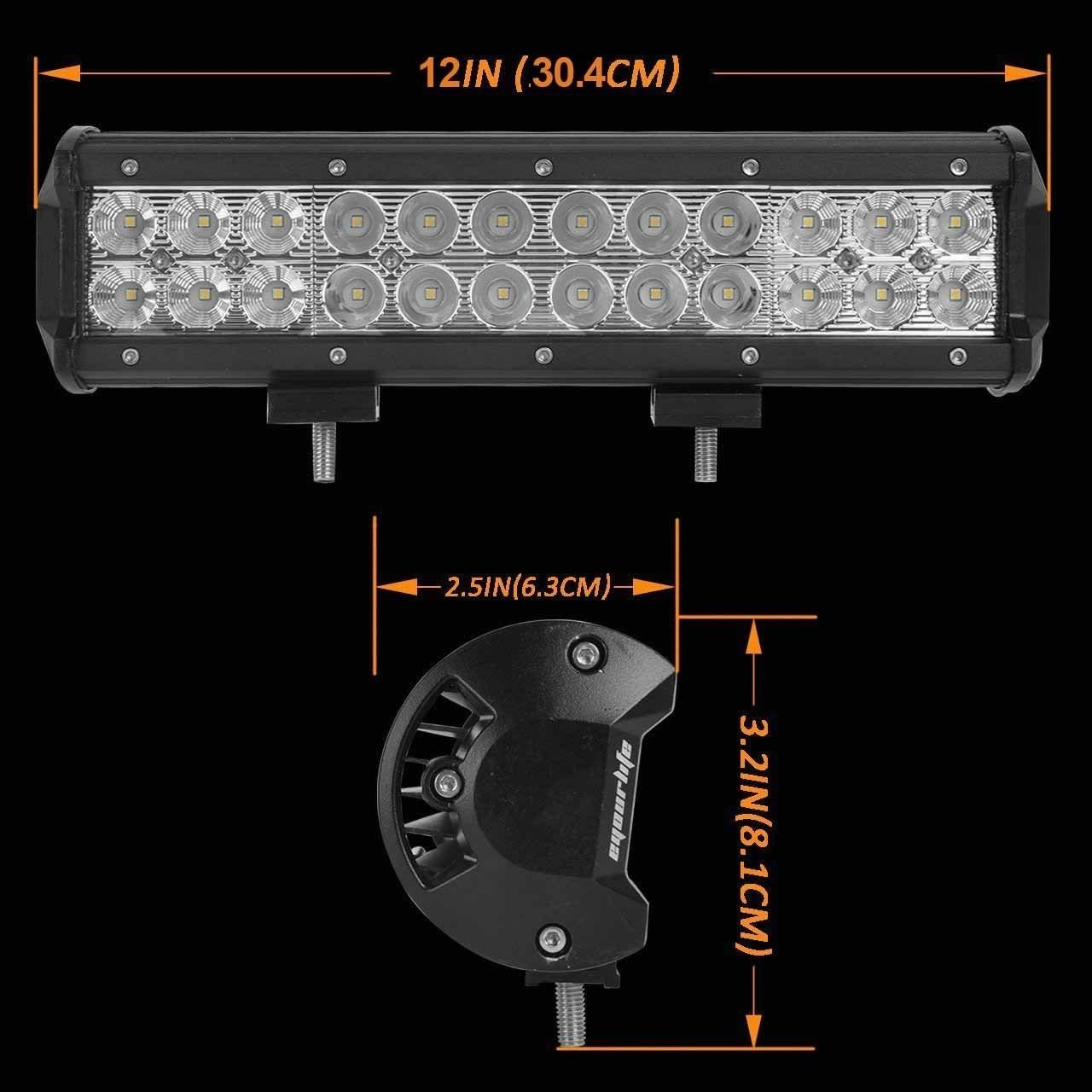 Quality Aluminum Material Auto LED Mini LED Light Bars 3W/PCS Cree LEDS Work Light Bar IP 68 for sale