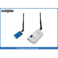 Quality Lightweight FPV Video Transmitter and Receiver Mini Wireless Video Sender with 1200MHz 5000mW for sale