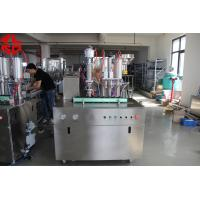 Quality Stainless Steel Tyre Repair Spray Aerosol Spray Filling Machine Automatic for sale