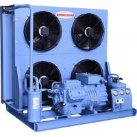 Quality Blue Semi Hermetic Condensing Unit High Efficiency Loudness And Stability for sale