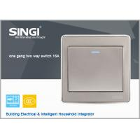 Quality 2015 new design electrical switch,wall switch  1 gang 2 way electric wall switch for sale