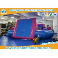 Buy cheap Durable PVC Tarpaulin Inflatable Football Pitch / Inflatable Soccer Playground from wholesalers