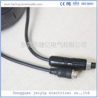 Quality Rear View Female To Male Backup Camera Cable 4 Pin With Customized Length for sale