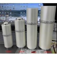 Quality 15ml 30ml 50ml 120ml luxury high quality pearl white round cosmetics bottle for sale