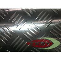 Buy Silver 3105 H32 Alloys Aluminium Checker Plate Cold Rolling at wholesale prices