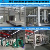 Quality apg epoxy resin mould epoxy resin injection mould epoxy pressuring machine Automatic pressure gelation machine for sale