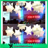 Quality 1M Wedding Decoration Inflatable Star White Star For Event Hanging Decoration for sale
