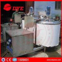 Quality CE Approved Stainless Steel304 refrigerated milk tank milk chilly Machine for sale