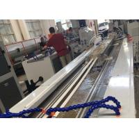 Quality PVC Profile Making Machine / PVC Profile Extrusion Line With Twin Screw Extruder for sale
