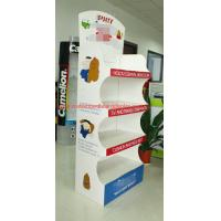 Quality Customized Temporary pop floor displays , Recycled Point Of Purchase Display stand for sale