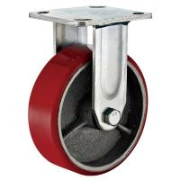 """Buy 8"""" Plate Heavy Duty Industrial Replacement Polyurethane Wheels With 500kg at wholesale prices"""
