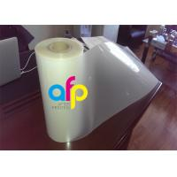 Buy Matte Thermal Lamination Film , Multiple Extrusion Transparent Roll Laminating at wholesale prices