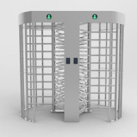 Quality SUS304 Double Arm Bi Directional Full Height Turnstile for sale