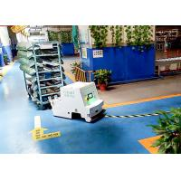 Quality Customized Travel Speed Unidirectional Tugger AGV Cart Magnetic Stripe Guidance for sale