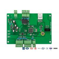 Quality TCP / IP Web Based Single Door Access Control Board For Turnstile Barrier Gate for sale