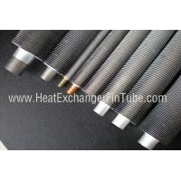 China B338 Gr. 2 SMLS Titanium Tube , Spiral Aluminum Extruded Fin Tube 1.245mmWT on sale
