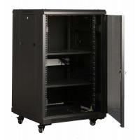 Quality 19 Inch Wall Mounted Network Cabinet Welded Frame With IEC297-2 for sale
